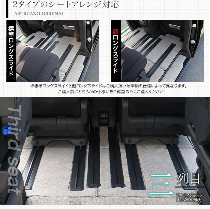 NISSAN(日産) セレナC27 フロアマット+ステップマット+トランクマットセット