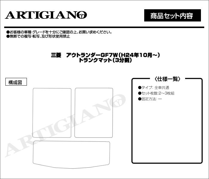 MITSUBISHI(三菱) アウトランダー トランクマット