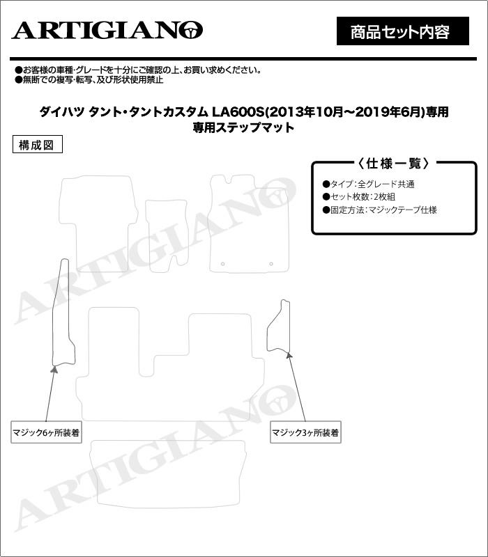 DAIHATSU(ダイハツ) タント ステップマット