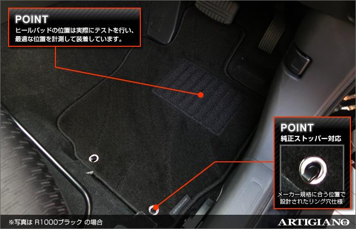MITSUBISHI(三菱) アウトランダー フロアマットセット