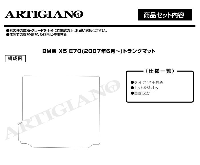 BMW BMWX5 トランクマット